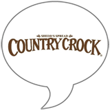 Country Crock Badge