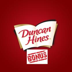 Duncan Hines Perfect Size For 1 Bonus Badge