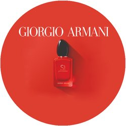 Giorgio Armani Si Passione Badge