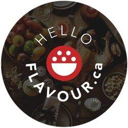 Hello Flavour Friendsgiving Badge