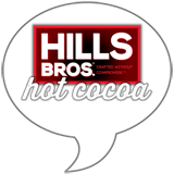Hills Bros. Hot Cocoa Badge
