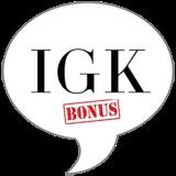IGK BONUS Badge