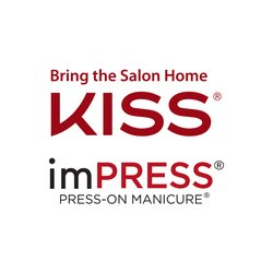 KISS x imPRESS Brand Badge