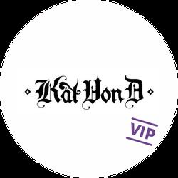Kat Von D VIP Badge (S&S)