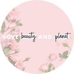 Love Beauty and Planet Sandalwood Badge