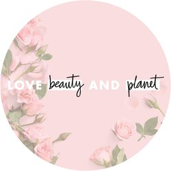 Love Beauty and Planet Rose Badge