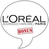 L'Oréal Extraordinary Clay BONUS Badge