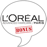 L'Oréal Color Vibrancy BONUS Badge