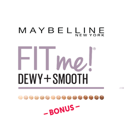 Maybelline Fit Me Dewy + Smooth Bonus Badge