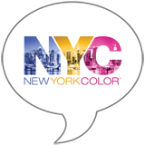 NYC New York Color Badge