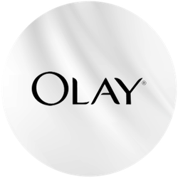 Olay White Charcoal Badge