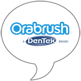 Orabrush® Brand Badge