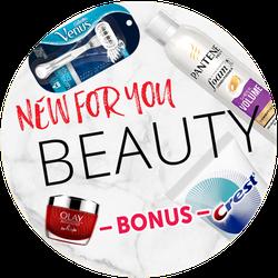 New Beauty at Target Bonus Badge