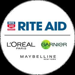 Holiday Glam x Rite Aid VirtualVox Badge