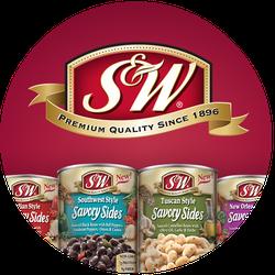 S&W Savory Sides Badge