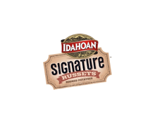 Idahoan Signature Russets Badge
