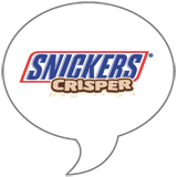 Snickers® CRISPER Badge