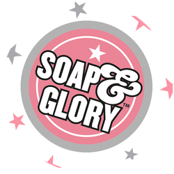 Soap & Glory No Woman No Dry Badge