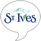 St. Ives® Live Radiantly Badge