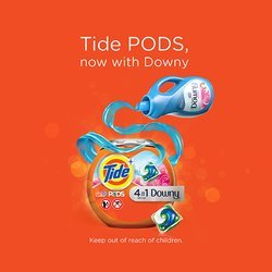 Tide® PODS™ Plus Downy® Badge