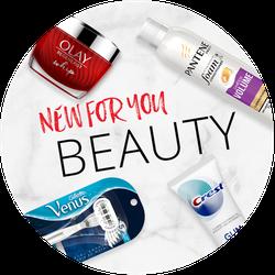 New Beauty at Target Badge