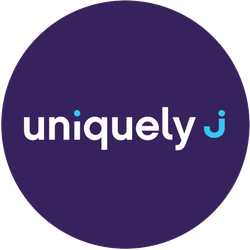 Uniquely J Badge