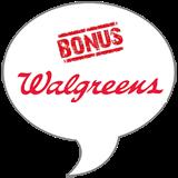 Walgreens Unilever Dry Spray BONUS BADGE