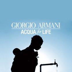 Giorgio Armani Acqua for Life Badge