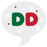 Dunkin' Donuts Holiday Challenge Badge