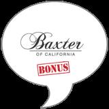 Baxter of California BONUS Badge