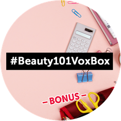 Beauty 101 BONUS Badge