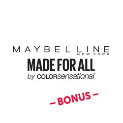 Maybelline Made for All Bonus Badge