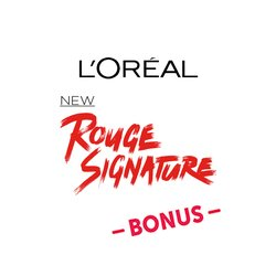 L'Oréal Paris Rouge Signature Bonus Badge
