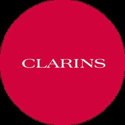 NEW Clarins Double Serum Badge