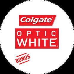 Colgate® Optic White® Radiant™ BONUS Badge