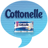 Cottonelle Mega Roll Badge