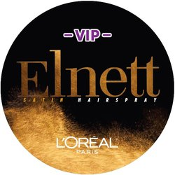 L'Oréal Elnett VIP Badge