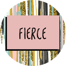 Fierce VoxBox Badge
