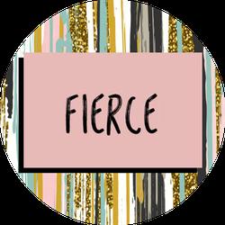 Fierce VoxBox Badge