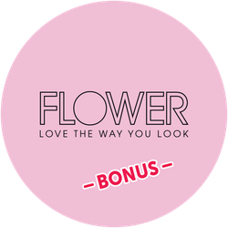 FLOWER Beauty Bonus Badge