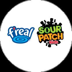 f'real SOUR PATCH Kids Redberry Sherbet Shake VirtualVox Badge