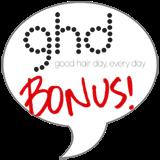 ghd Platinum™ Styler Bonus Badge