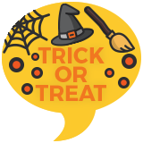 Trick or Treat Badge