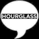 Hourglass GIRL VirtualVox Badge