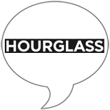 Hourglass Badge