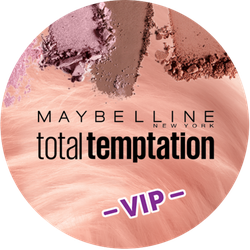 Maybelline total temptation VIP Badge