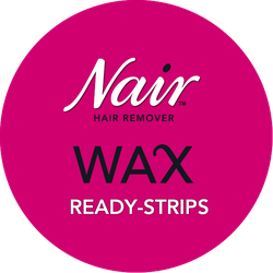 Nair Wax Ready-Strips Badge