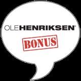 Ole Henriksen Bonus Badge