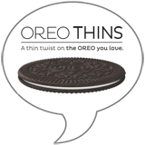 OREO Thins Badge