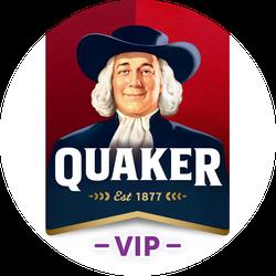 Quaker VIP Badge